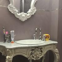 Реализиран проект на баня за момиче в частен дом, кв. Симеоново