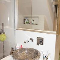 Лепене на плочки и ремонт на баня в София - снимки