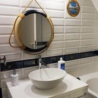 Ремонт на баня в София с морски мотиви - снимки