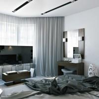 Класическа спалня - окачен таван, боядисване и обзавеждане