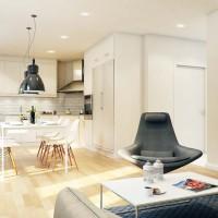 Светъл и модерен апартамент - окачен таван, светли тонове и уютно излъчване