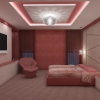 Спалня в модерен интериор