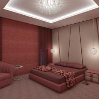 Спалня в модерен интериор - вариант 2