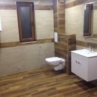 Цялостен ремонт на малка баня с тоалетна