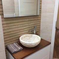Завършена баня в частен апартамент