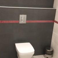 Основен ремонт на тоалетна в офис