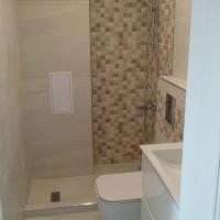 Основен ремонт на малка баня в едностаен апартамент