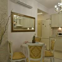 Завършен ремонт на трапезария и баня в частно жилище