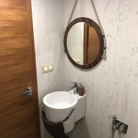 Завършена баня в частен дом
