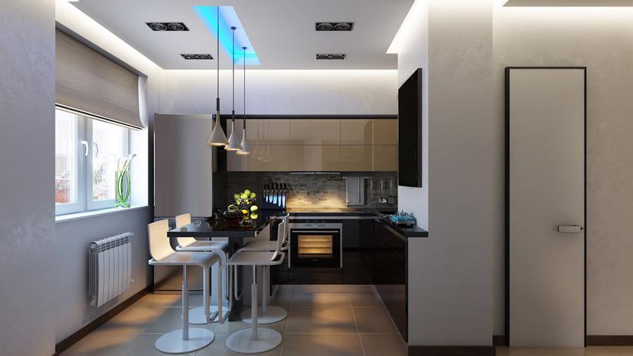 Ремонт на кухня, кухненско обзавеждане, окачен таван, изгражадне на кухненски барполот - извършване на цялостни ремонти на апартаменти и къщи в София