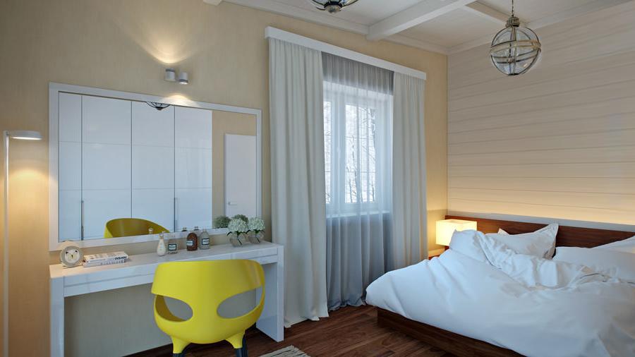 Ремонт на спалня - боядисване, дограма, ламинат и др.