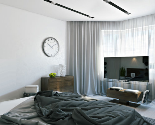 Интериорен дизайн, ремонт и обзавеждане на спалня - ремонтна апартамент в София