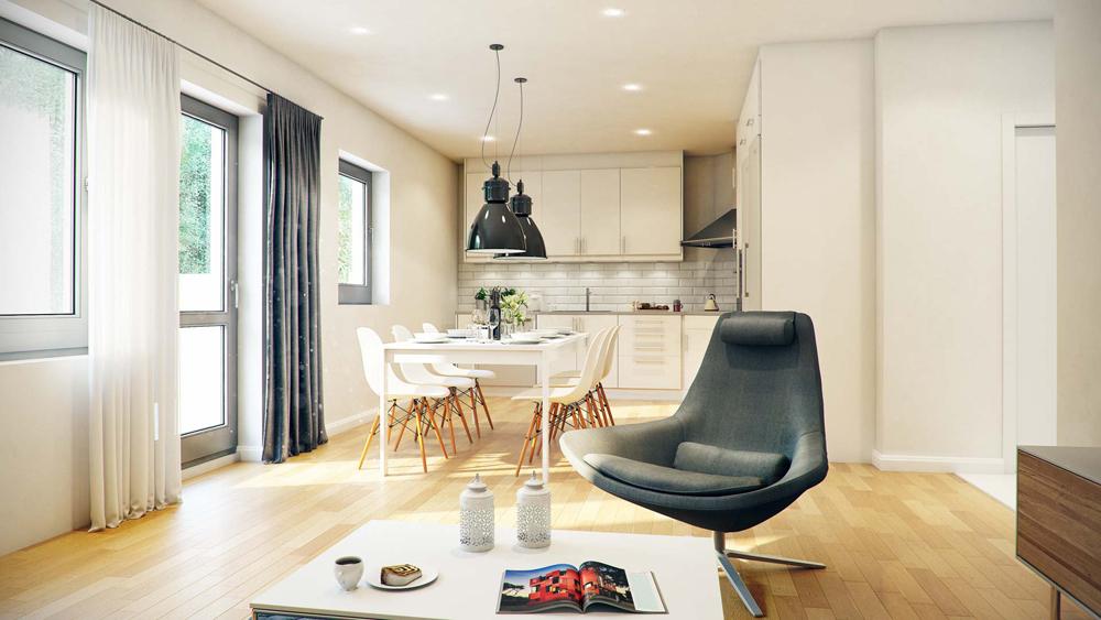 Ремонт на всекидневна - светли тонове, свежест и уют във Вашия дом