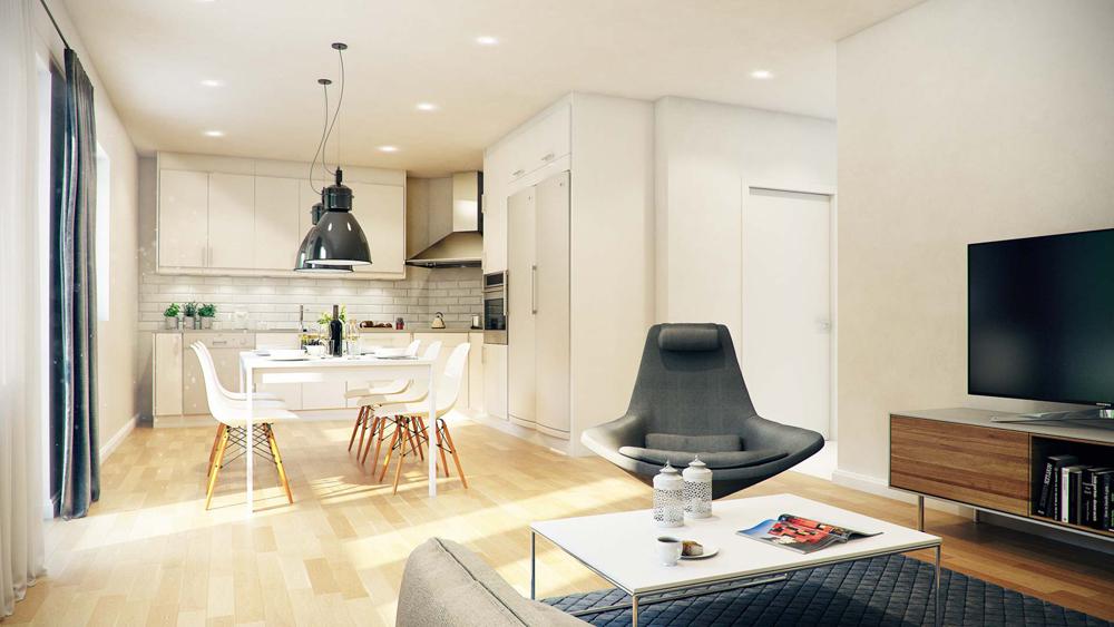 Светъл модерен апартамент - изберете интересен дизайн на апартамента си в София