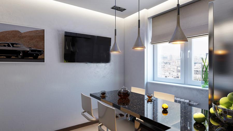 Ремонт и обзавеждане на хол в София - гипсокартон, окачен таван, осветление, щори и т.н.